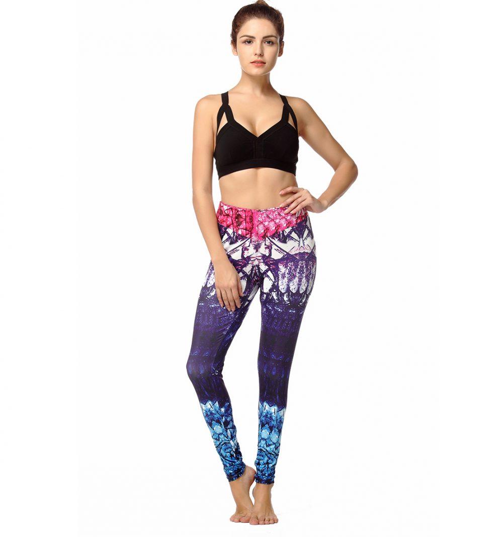 #idealbreakfast #results #fitness Women's Abstract Geometric Pattern Yoga Leggings