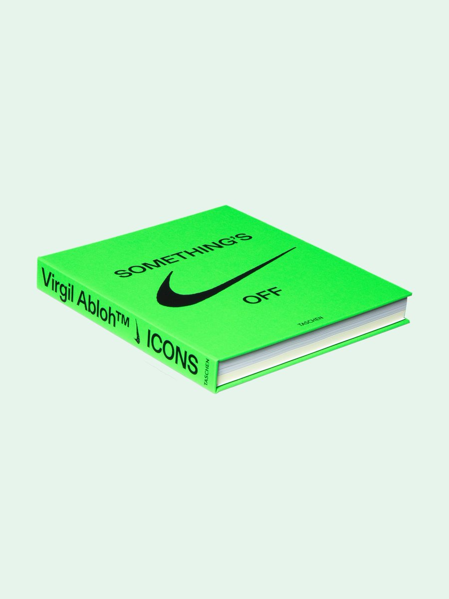 ICYMI: The new Virgil Abloh x Nike ICONS Book is still available  Link