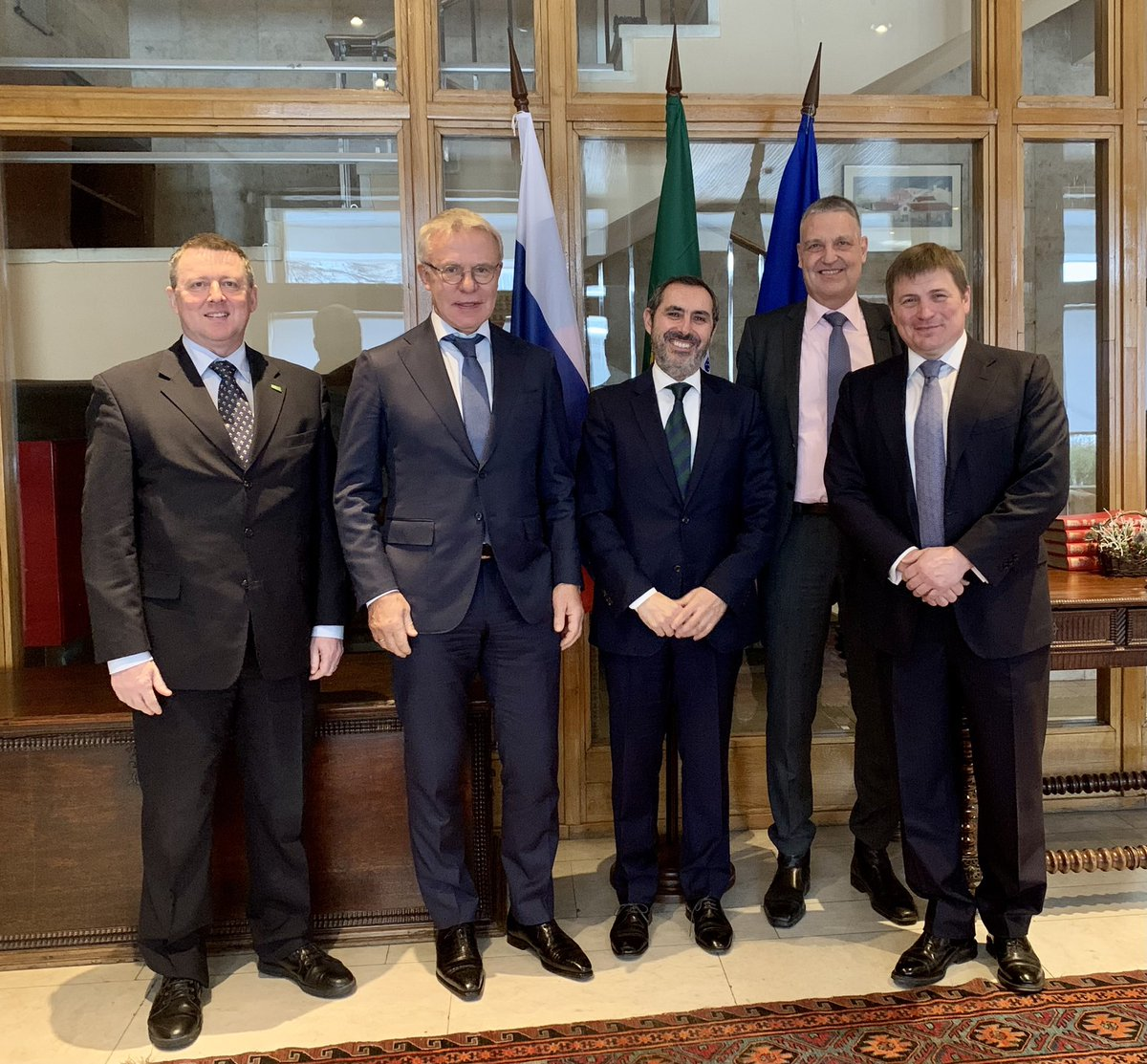 It was our pleasure and honour to meet Slovenia Ambassador to Russia, Portugal Ambassador to Russia, and EU Ambassador to Russia to discuss #ClimateChange, #biodiversity, and global #sustainableeconomic recovery.