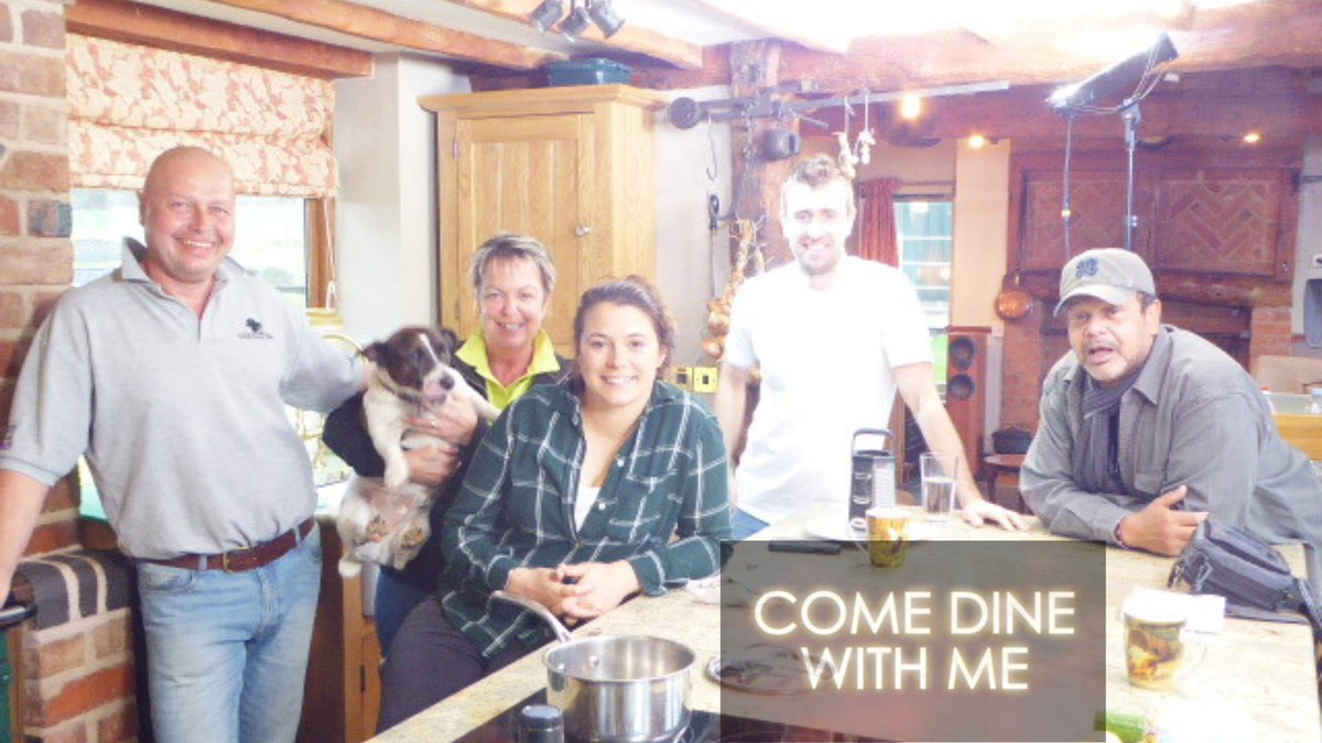 In December 2019 Oaks Barn Farm hosted the Tokyo Olympic Competitors filming for Come Dine With Me to be screened ahead of the Games #TokyoOlympics #comedinewithme  #farmstay #holidaycottage #selfcatering #AirBNB #Londonislovinit #UKSmallBiz