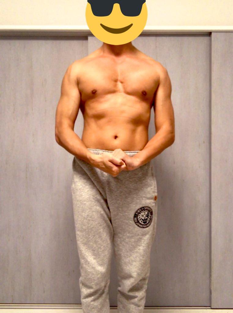 ✅#マッスルポージング   しまむら福袋のズボン履き心地良い‼️  🌟  筋トレは自分との約束  裏切らずコツコツと積み重ね‼️  🌟  夏には光輝くゴールデンボディ‼️  #ダンベル  #workout  #fitness #workoutmotivation #bodymaking  #筋トレ  #ダイエット垢  #筋肉合宿 #筋トレ好きと繋がりたい #njpw