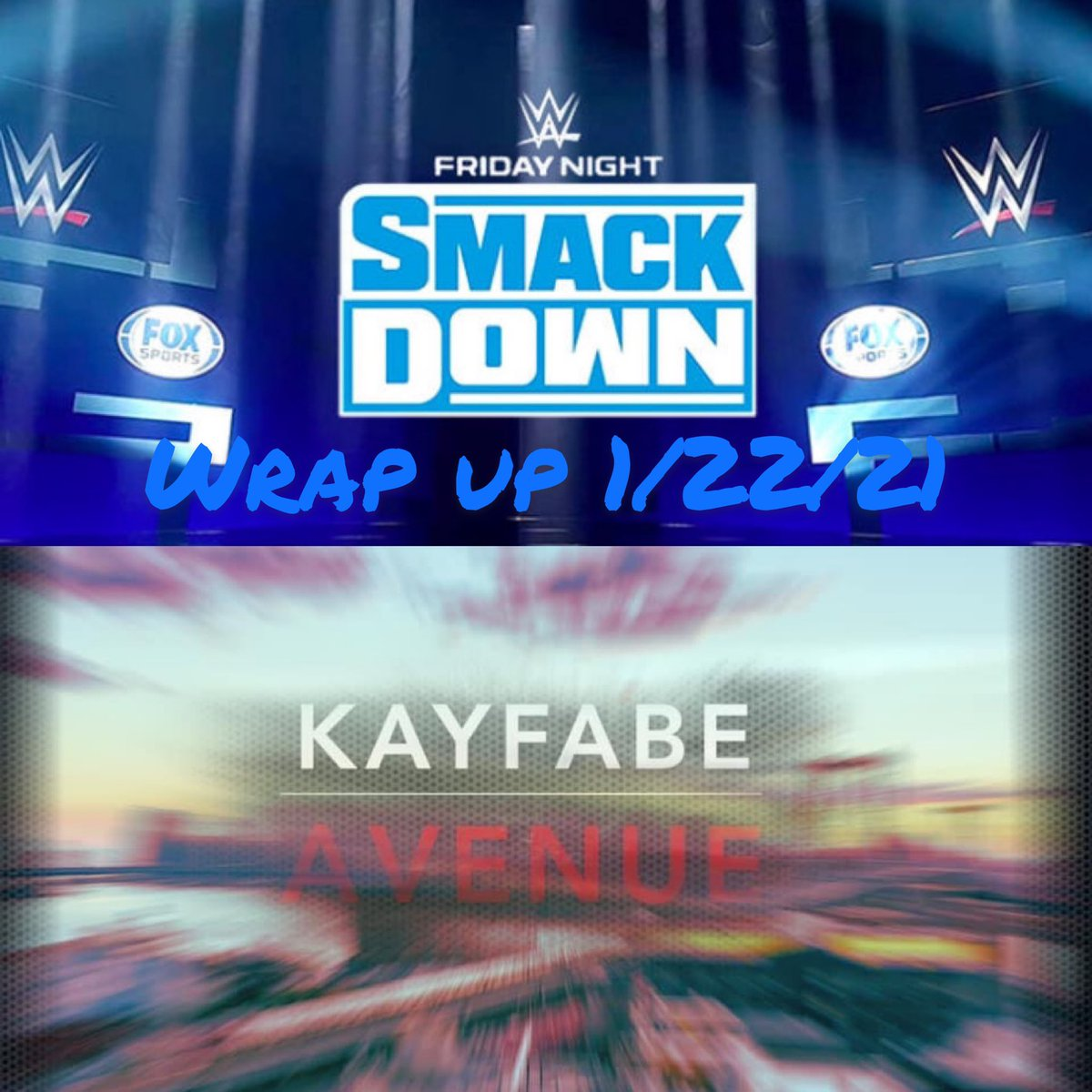New podcasts up!! Link in bio!! Find us on all podcast streaming sites (apple and Spotify etc). Join our FB group and watch our YouTube show all @ Kayfabe Avenue. #kayfabeAvenue #podcast #aew #wwe #nxt #wweraw #SmackDown #applepodcasts #spotify #anchor #aewdynamite #royalrumble