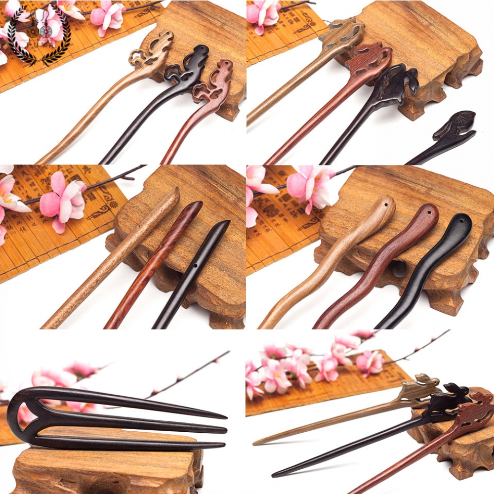 #fun #outside Ethnic Sandalwood Hair Sticks
