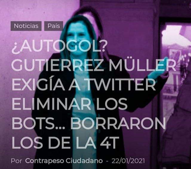Chairos no sean gachos y denle las gracias a su no primera dama, la zopi  @BeatrizGMuller porque logró que sacaran a los bots de Twitter 👏👏👏👏👏 Y salieron 😂🤣😂🤣😂🤣  #TwitterPorMexico  #TwitterSaludable