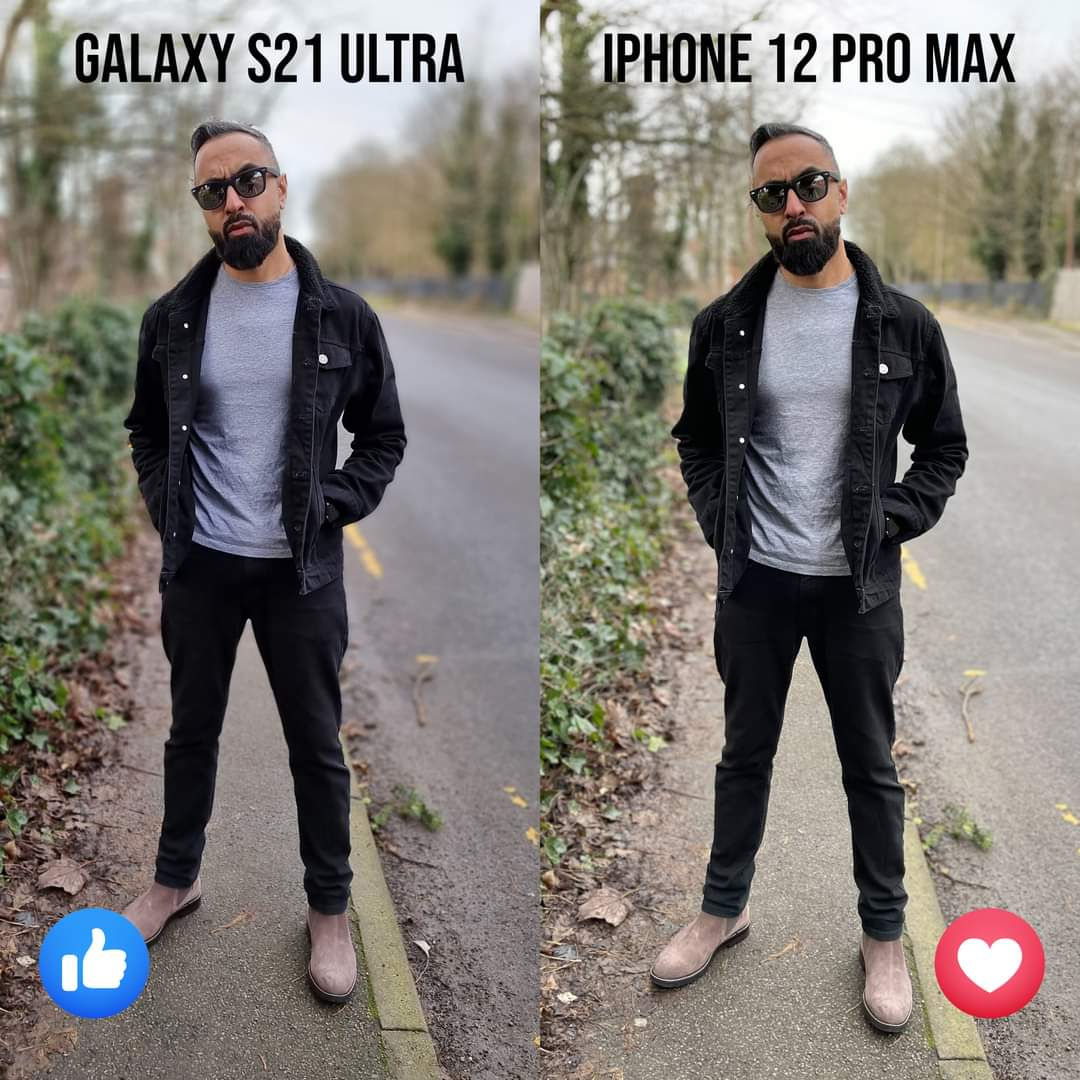 Samsung Galaxy S21 Ultra or iPhone 12 Pro Max? 🤔  shop now: https://t.co/8mTLkb4vE9 https://t.co/9oAgggSBtQ