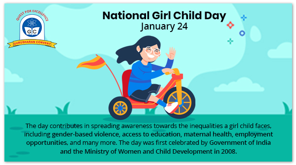 """""""Little girls dance their way into your heart, whirling on the tips of angel wings, scattering gold dust and kisses in our paths"""" - Spread awareness and be the one to stand for girls' rights this National Girl Child Day! #nationalgirlchildday #savegirlchild #girlpower #girlchild"""