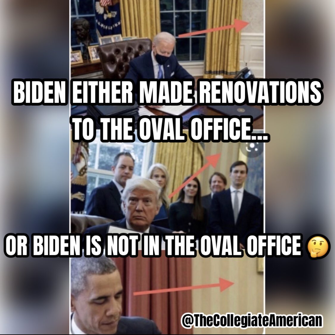 Do you seriously think Biden is actually the legitimate President? You seriously think the military doesn't know exactly what's going on after 4 years of predicting a stolen election? I sure don't think so. Think bigger. #ExposeTheDeepState #DrainTheSwamp #FakePresident #MAGA