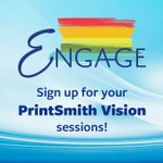 Image for the Tweet beginning: #EFIPrintSmith Vision 5.0 is here.