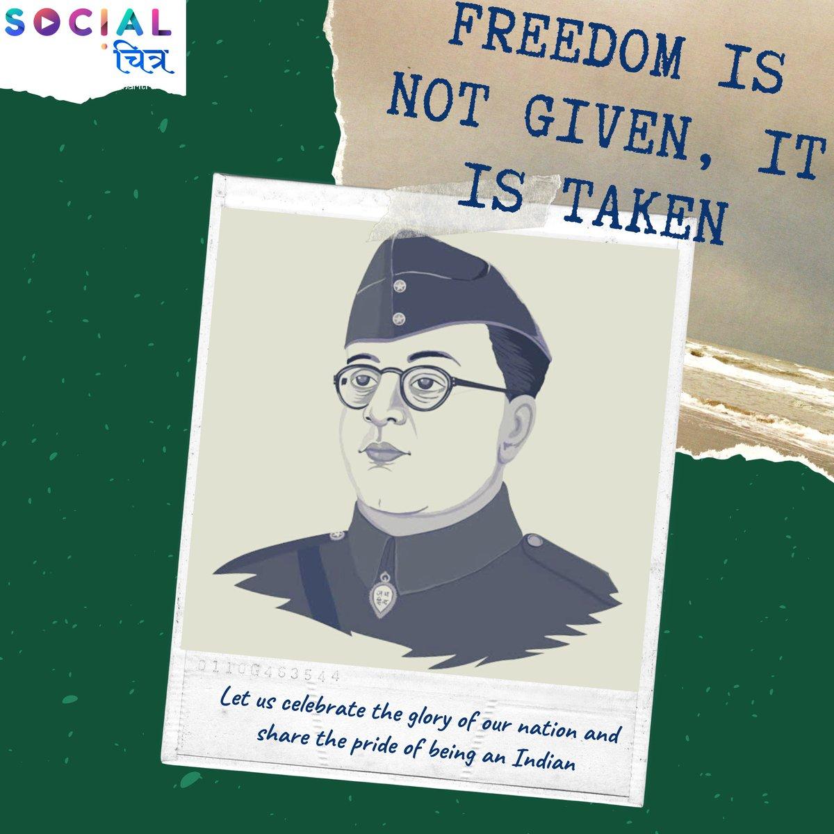 Let's celebrate the fighter, who stood by us. Happy Subhash Chandra Bose jayanti🇮🇳🇮🇳 . . . . . .  #SocialChitra #trending #trendingnow #pongal #subhashchandrabose #socialmediamarketing #socialmedia #business #marketingdigital #seo #branding #onlinemarketing #instagram