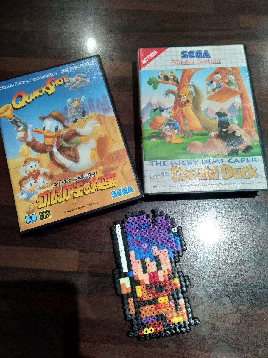 Time for a #SEGASaturday with a #Disney 's #Donald poll this morning between #Quackshot for #MegaDrive and Lucky Dime Caper st. #DonaldDuck for #MasterSystem  Which one is your favorite ?  #segaforever #sega60th #retrogaming #retrogamer #sega  #gamersunite #segaclassics #sega