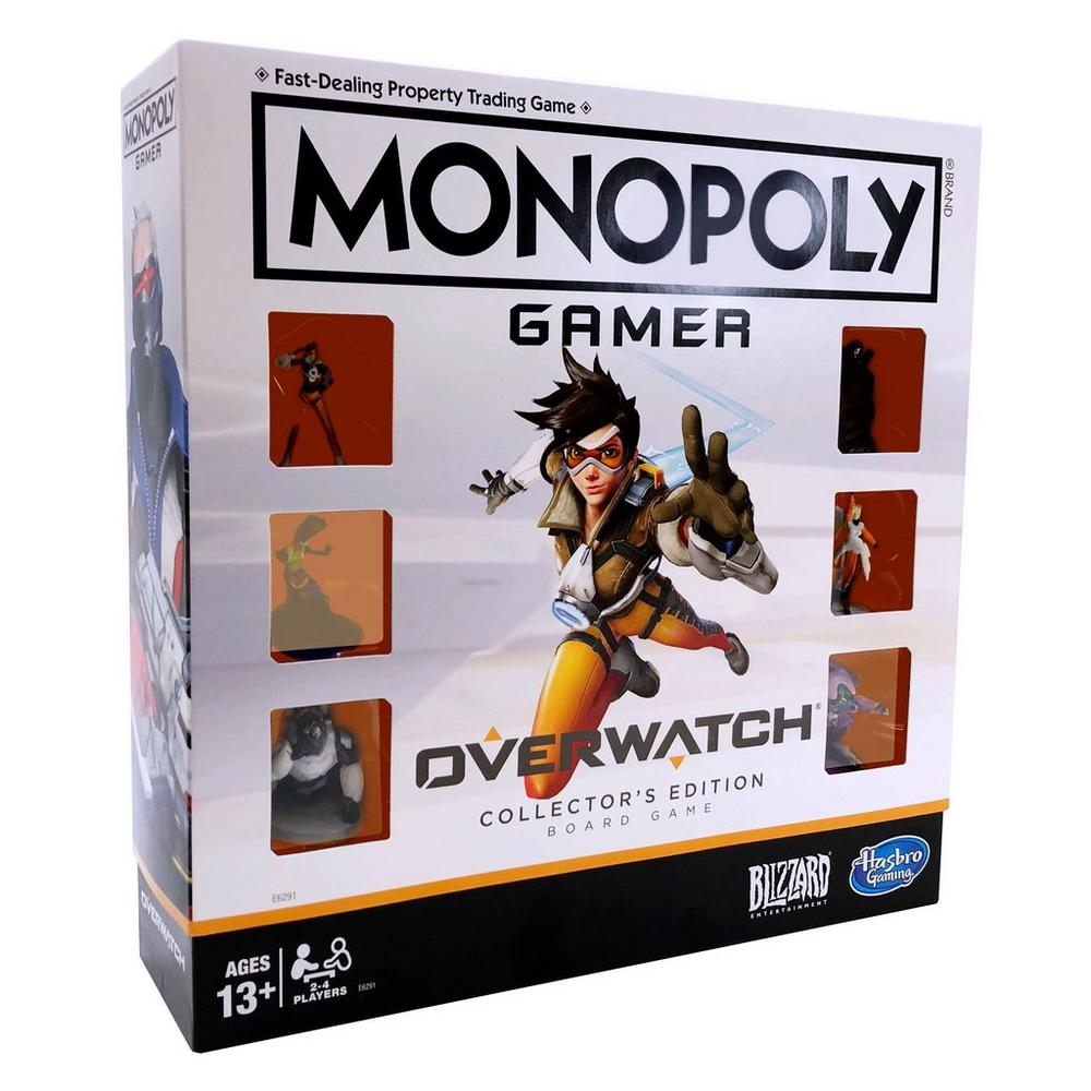 Monopoly Gamer: Overwatch Collector's Edition Board Game is $5 at GameStop DOTD