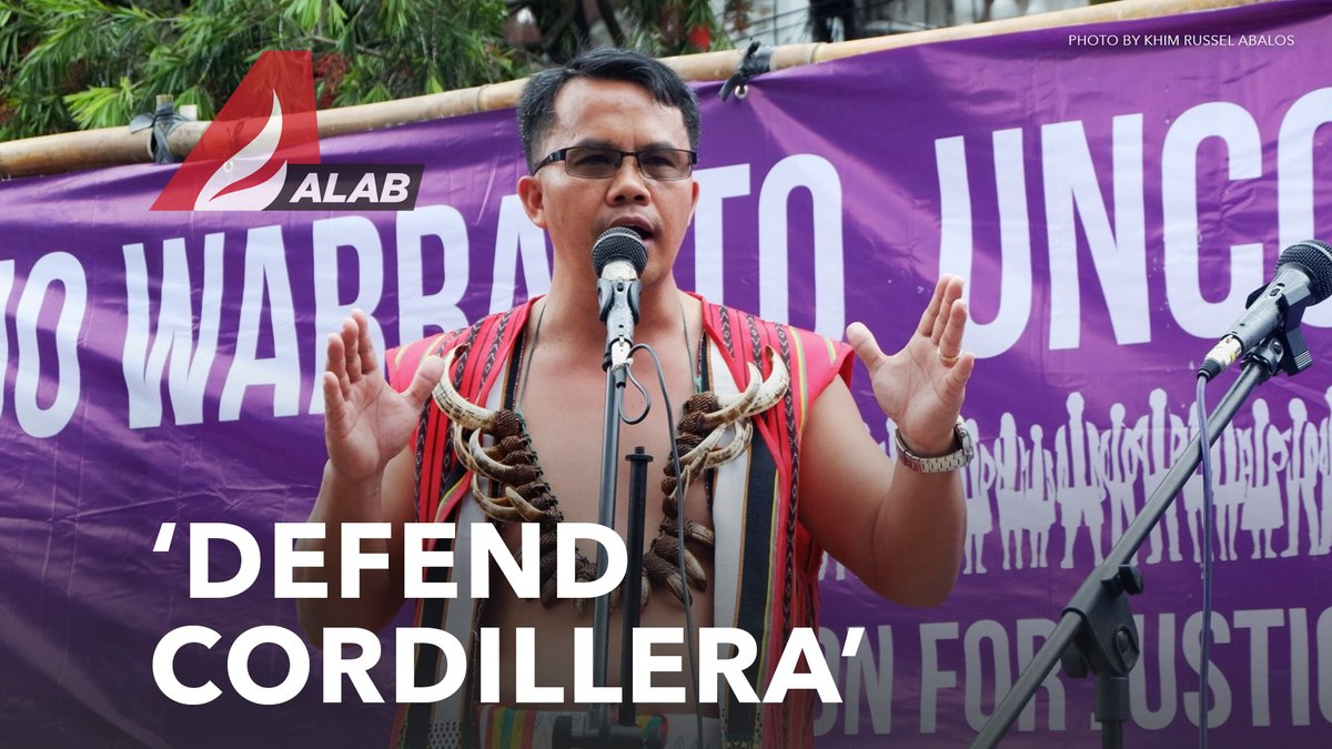 Shoot-to-kill order ang inilabas ng Cordillera PNP laban sa kilalang lider-katutubo na si Windel Bolinget. Agad kinundena ng human rights groups ang tila sunud-sunod na panggigipit sa Cordillera. Panoorin ang ulat ng @nordisonline: youtu.be/zYfCUJgI1Dw?t=…