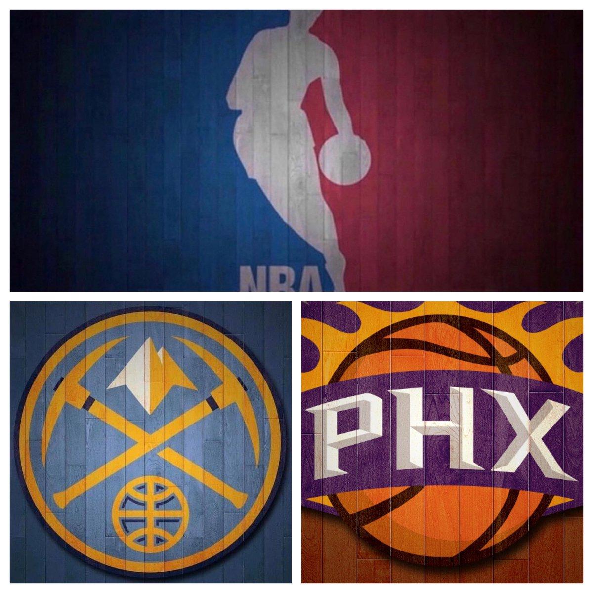#IESRSN #Nuggets @ #Suns is underway! #NBA #DENvsPHX #MileHighBasketball #WeAreTheValley