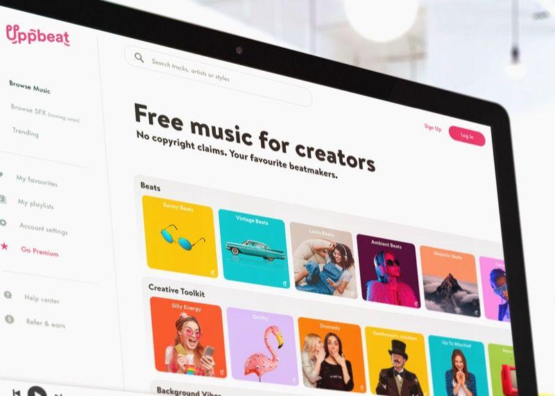 あとで見にいってみようユーチューバーに最適な高品質フリーミアム音楽プラットフォームUppbeatがサービス提供開始 | TechCrunch Japan
