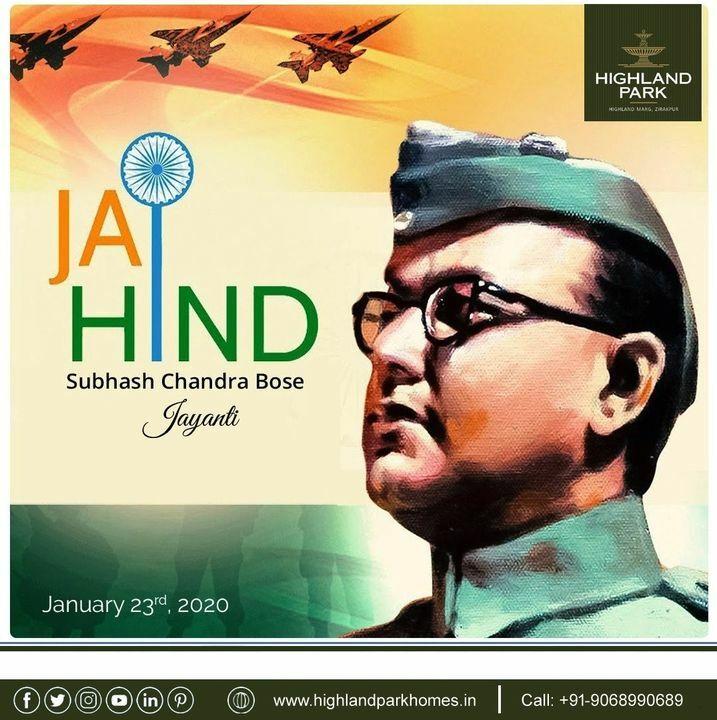 Tributes to Netaji Subhash Chandra Bose Ji on his birth anniversary & wishes to all on Parakram Diwas.    Jai Hind Flag of India  #BirthAnniversary #Netaji #Netaji_Subhas_Chandra_Bose #NetajiJayanti #netaji125 #wishes #celebration #hero #legend #India