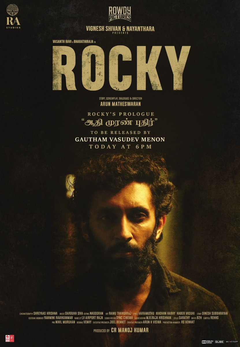 Nice ! 🤓 @arunmatheswaran   #Rocky - Naatuku Pogalaam!   Watch the teaser here ▶️   @VigneshShivN #Nayanthara @arunmatheswaran @iamvasanthravi @DarbukaSiva @offBharathiraja @raveena116 @Rowdy_Pictures