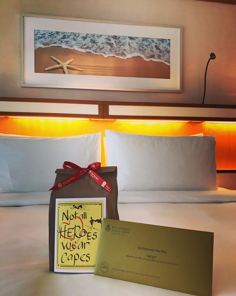 Staycaytion!! With generous compliments of @PanPacificSGP 🥰#HealthcareHeroes🦸🏻♀️ #unwind 🦩🌴