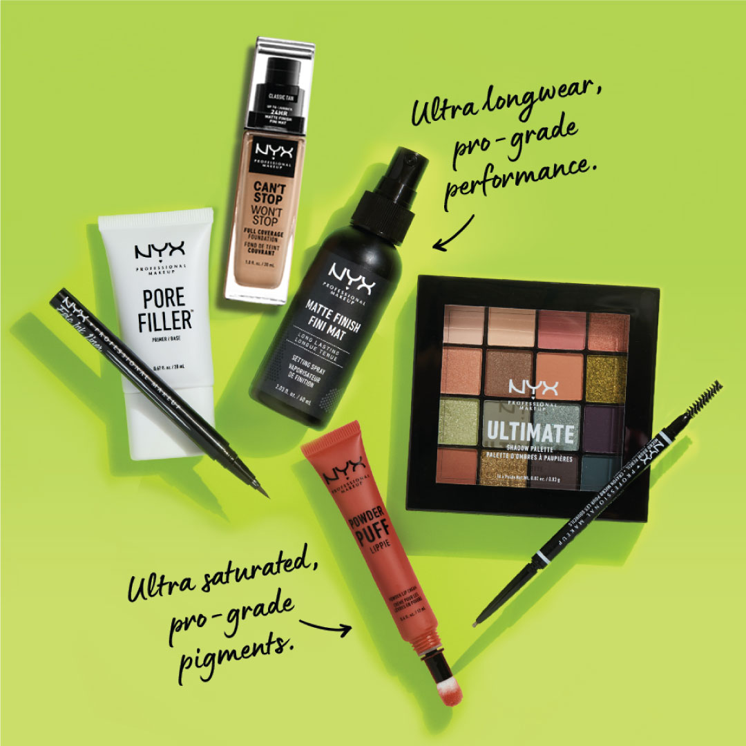 GO GREEN, GO VEGAN 💚🌿 Explore the @nyxcosmetics_arabia vegan makeup range in-stores and online!  كن نباتياً ، وأكتشف @NyxCosmetics _arabia   مجموعة المكياج النباتي في المتاجر أو على الموقع الإلكتروني اون لاين 💚🌿 https://t.co/THiFwKxJhV