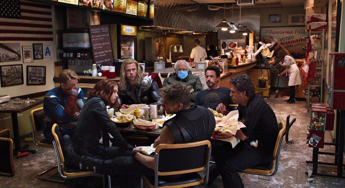 #Avengers #BernieSanders   #BernieSandersMittens