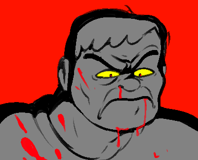 Replying to @squimpus: what if i drew doomguy for no reason lol like what if i