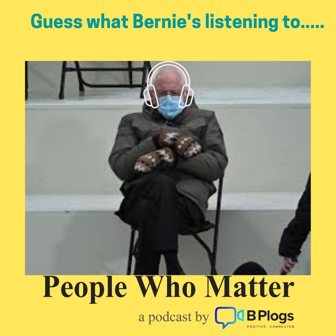 It's official... when Bernie listen in... ;)   People Who Matter - Season 3 out now on @audible_com @Audible_ind  #podcast #podcasts #BernieMeme #BernieSandersMittens   #usa #podcastmeme