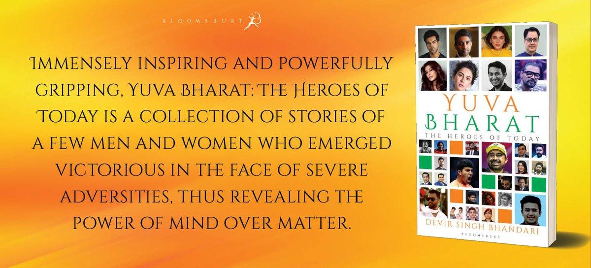 Yuva Bharat encompasses tales of overcoming all odds and achieving success eventually.   Pre-order #YuvaBharat here:  @RajkummarRao @Rakulpreet @aditiraohydari @remodsouza @IChitrangda @rannvijaysingha