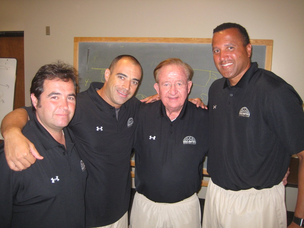 For over a decade, I had the great opportunity to work @Wootten_Camp and work for @coachwootten.  Last year on this day, the world lost a Hall of Fame coach, teacher, and an amazing person.   Thankful for all the lessons and experiences learned from such a great man.    #Legend
