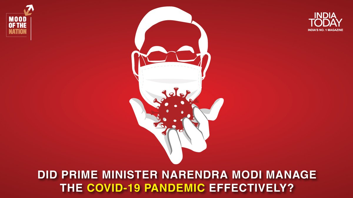 Did Prime Minister Narendra Modi manage the Covid – 19 pandemic effectively?  To find out, click  to download the Mood Of The Nation special issue of the #IndiaTodayMagazine #MagazinePromo