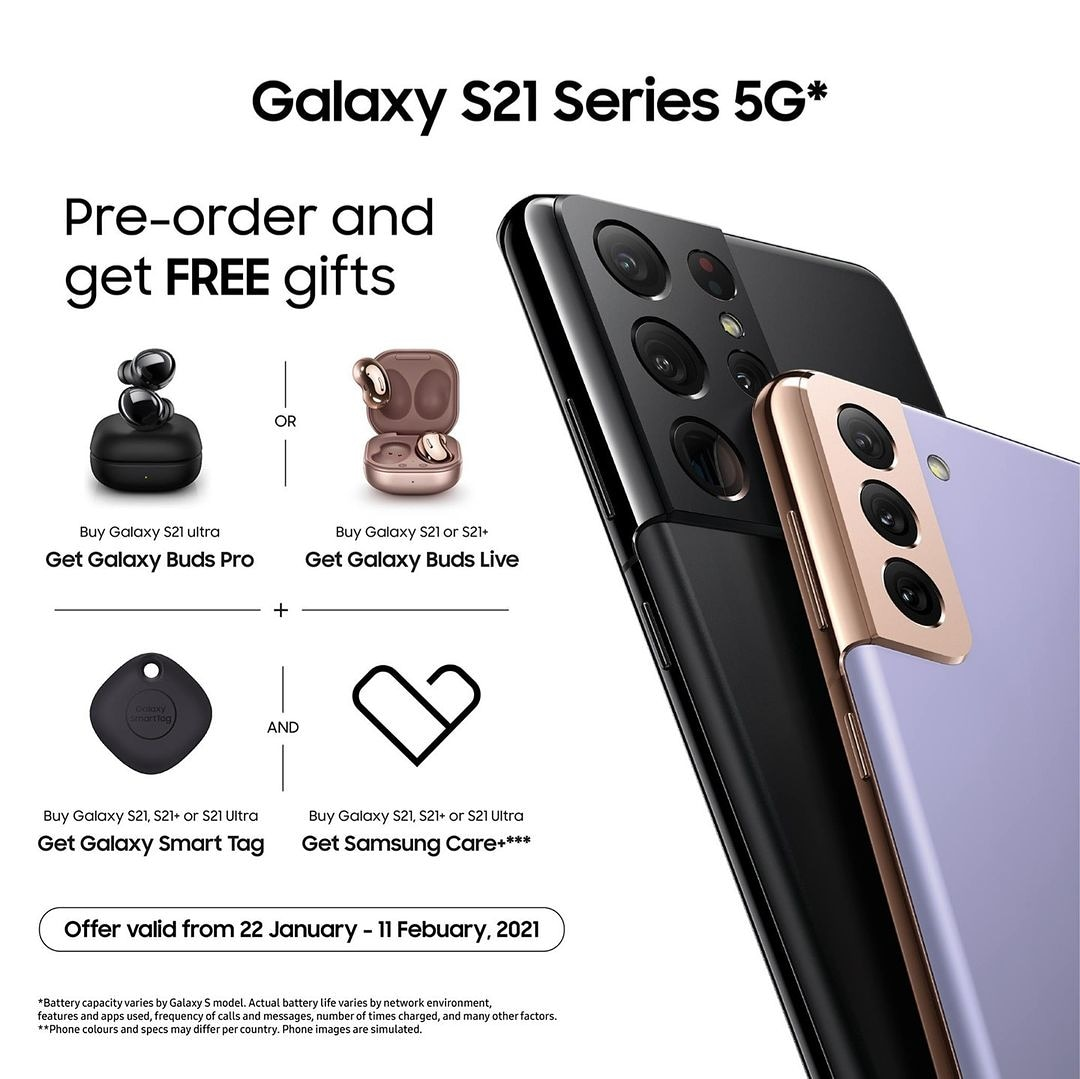Be among the 1st to own any of the Samsung Galaxy S21 Series... Just do a Pre-order for any of the Samsung Galaxy S21 Series with Us today and get a free Gift worth over ₦80,000.  Call/whatsapp 08073522222  Send us a DM #McSteve #Samsung #Samsunggalaxys21 #SamsungGalaxyS21Ultra https://t.co/5EY8PoQS2D