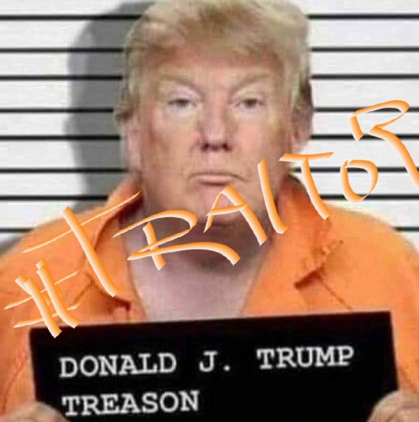 @NBCNews ...  I believe #MerrickGarland needs to step in when he's in, & make an example out of her, & the thousands of #DomesticTerrorists who willfully & knowingly attacked the U.S. Capitol in broad daylight at their #DearLeader's command!  #LockHerUp! #LockTheBlondeUp! #ConvictTrump!