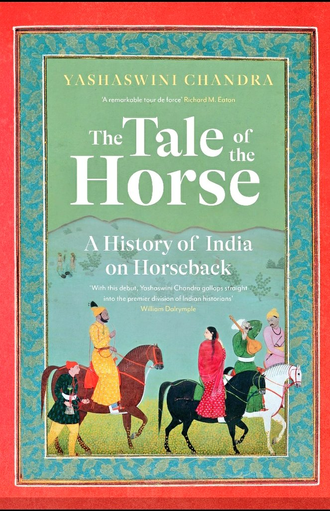 From the Ashwamedha to Chetak and Laili, horses were an integral part of life in India. Author of The Tale of the Horse,@Yashaswini_Chtalksof Maratha women equestrians, artists like Bagta, Shah Jahan's piebald, and Rajput legends on Books & Authors