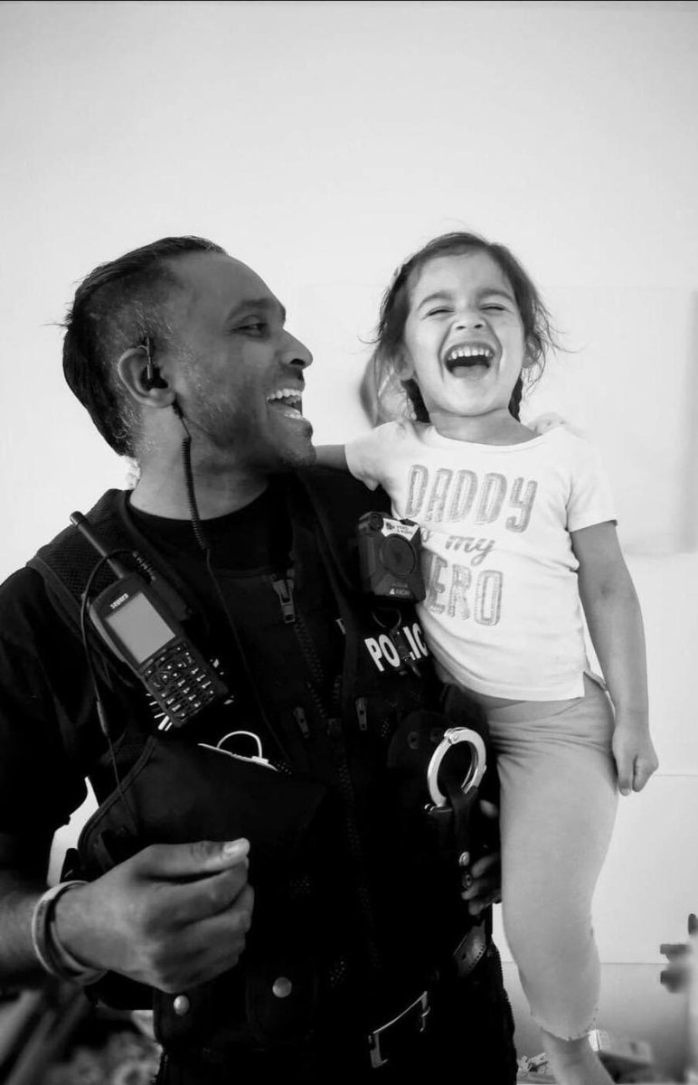 """""""Brave, loyal, a fighter..he'll live in our hearts forever.""""   Tributes are being paid to a serving @gmpolice officer & dad of two, who died in hospital after testing positive for #COVID19  PC Abbas Uddin was 40 & based in #Trafford & did loads of charity work in his spare time https://t.co/N1S4kd7FTG"""