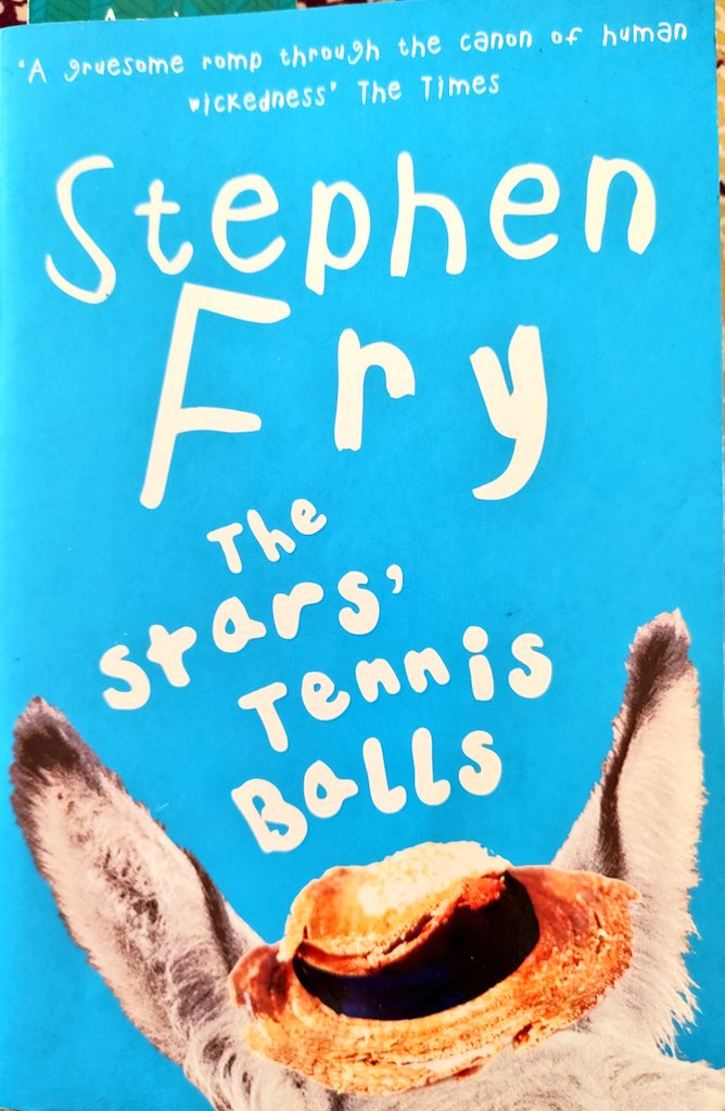 3/60: 'The Stars' Tennis Balls' by @stephenfry . I have always wanted to read a #StephenFry novel since I heard of the HP audiobook...this is such a wonderful contemporary adaptation of The Count of Monte Cristo classic..enjoyed it :) . @HTBrunch #BrunchBookChallenge2021