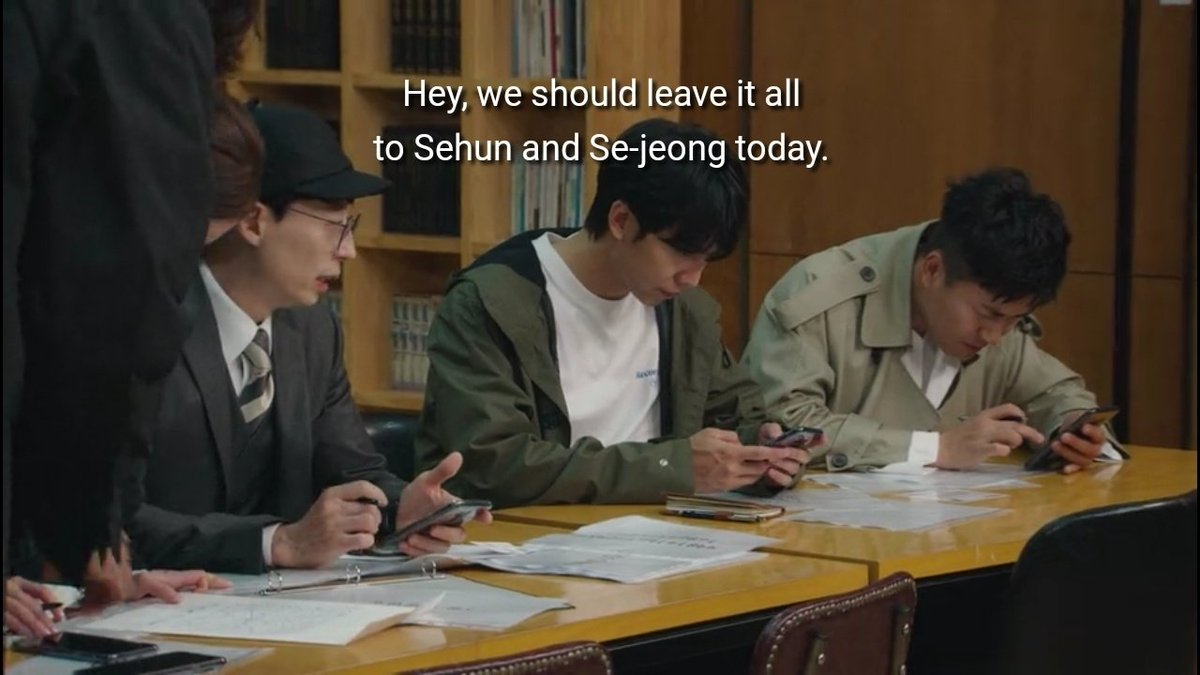 Alright. The men are useless, except Oh Sehun. Minyoung, Sejeong, and Sehun carried the team this season hflhdkdkd. #BustedSeason3 #BustedNetflix https://t.co/GuJDrPX3lH https://t.co/Jncdl0Ln5K