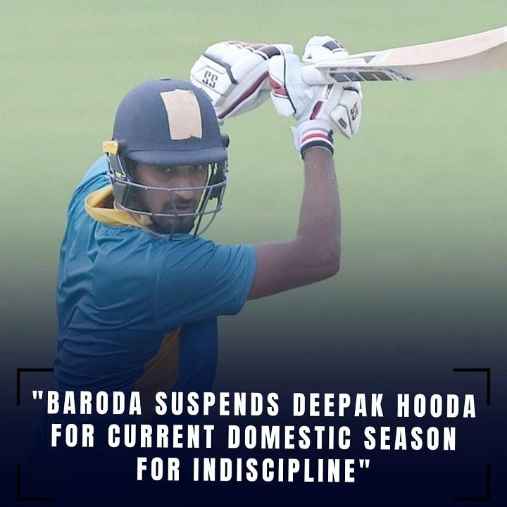 Do support @iamdeepakhooda from @cricbaroda for suspending without any fault by @iamdeepakhooda Follow   @BCCI  @iamdeepakhooda @psakhil19  #cricket #indiancricketteam #ipl #viratkohli #viratkohliupdates #shubmangill #kohli #indiavsengland #virat #rohitsharma #deepakhooda