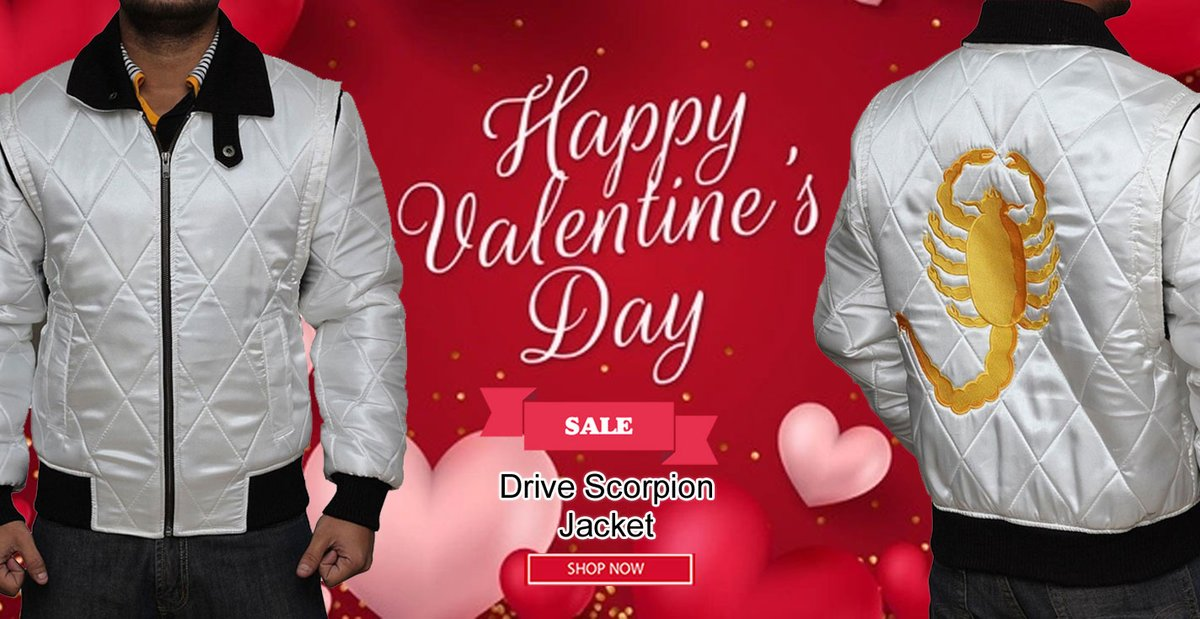 #ValentinesDay Amazing Offer on #Movie Ryan Gosling #Drive Scorpion White Satin Jacket. ------------------------------ ►Shop Now Click on Link◄  #Valentines #OOTD #Style #Jacket #Fashion #Costume #Cosplay
