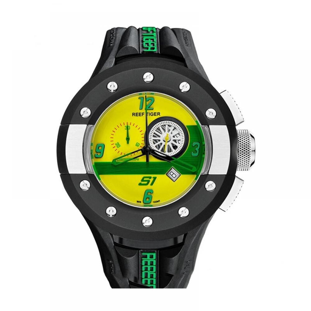 #style #stylish Sport quartz watch chronograph waterproof