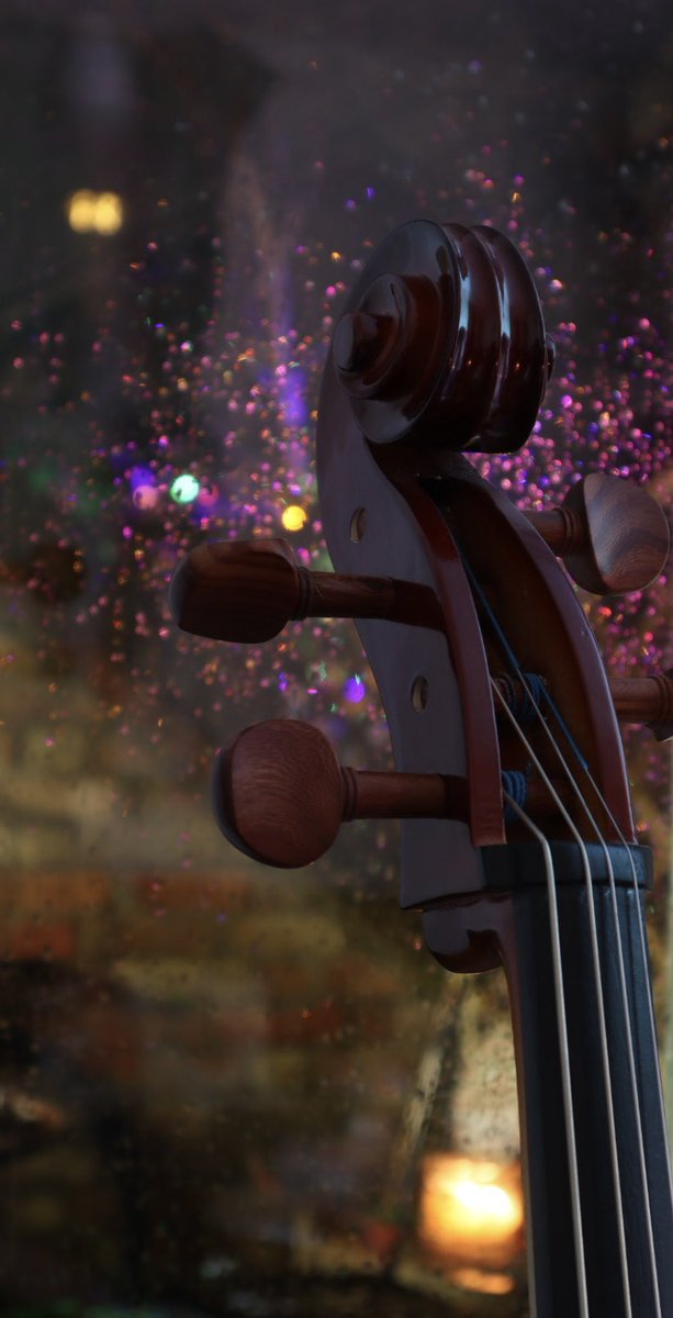 Miserable evening yesterday so I took a couple of pictures of my fiancé's cello instead of going out #cello #rain #photography https://t.co/vwkGU3gbPP