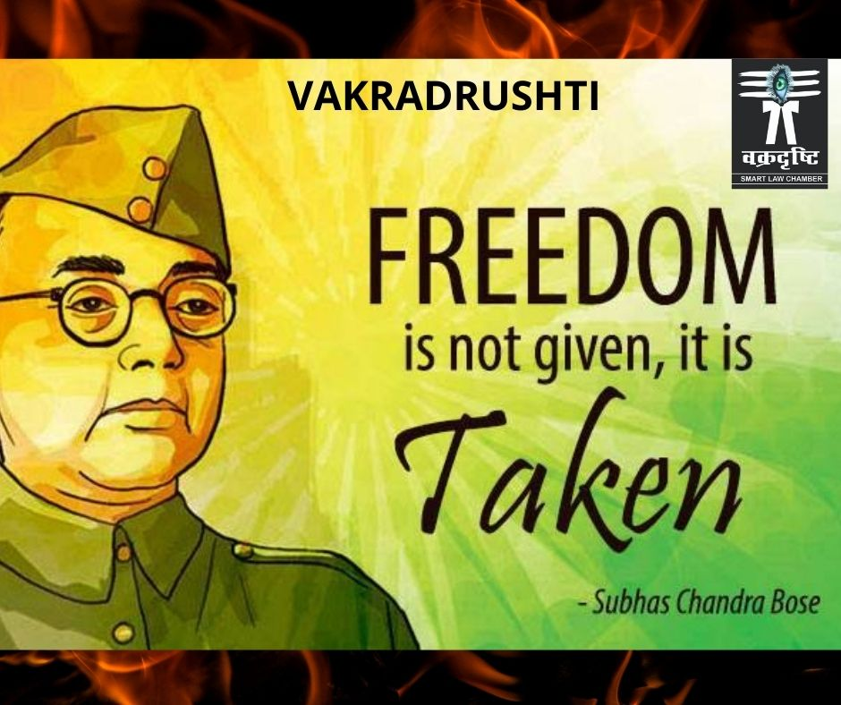 """""""It is blood alone that can pay the price of freedom. .."""" ture line by neta ji . HAPPY BIRTH DAY Legend ! #Netaji #shubhaschandrabose #lawstudent #lawyer #justic #Hero"""