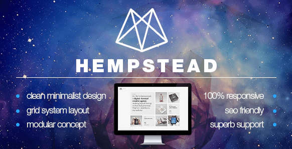 About Hempstead Creative Theme  Hempstead Creative Theme is a responsive, retina-ready portfolio WordPress theme that is a stunning visual experience for minimal loving creatives with its grid system layout.  #photography #photos #portfolio  https://t.co/OWDILHZlYI https://t.co/U302HWaHQ9
