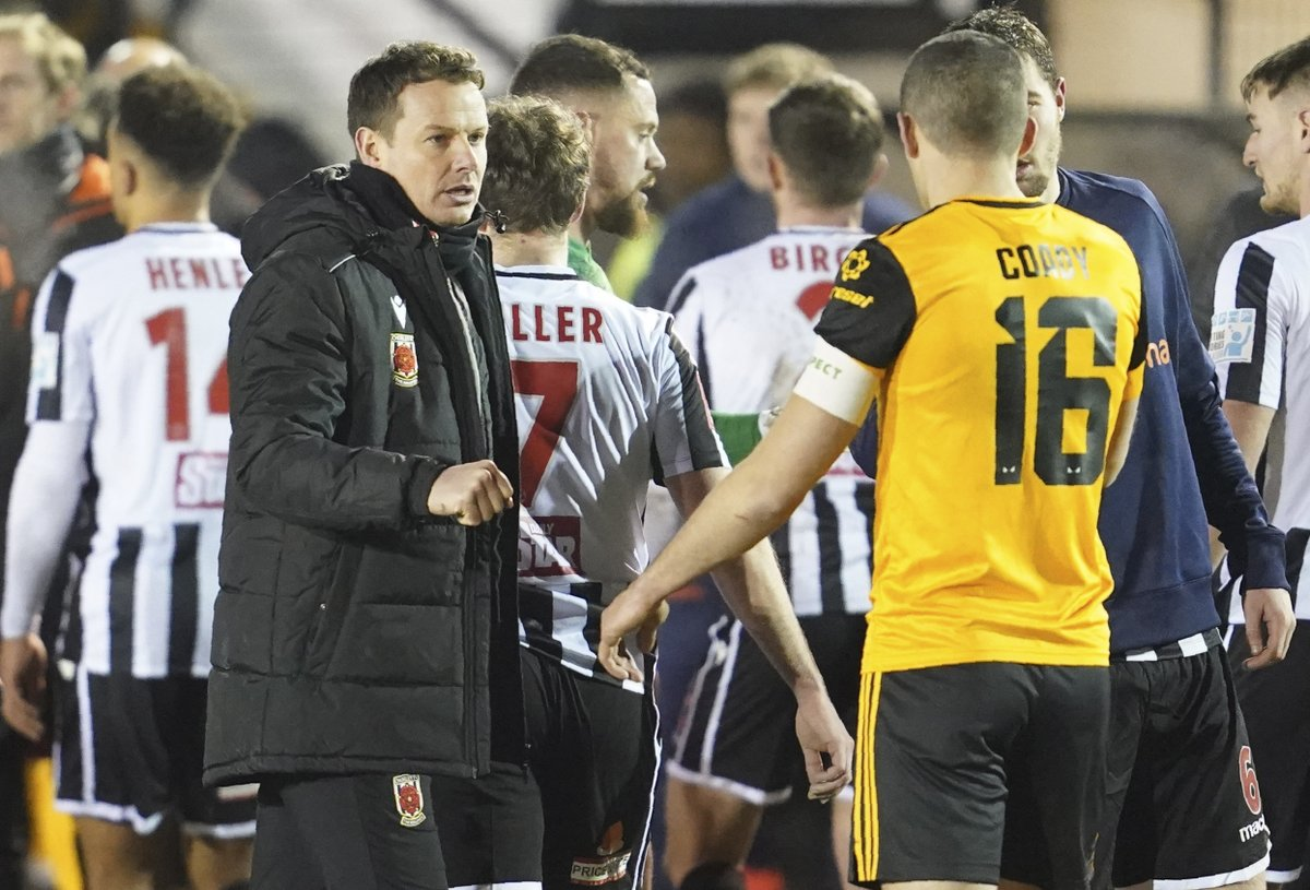 The #FACup dream is over for @chorleyfc after a 1-0 defeat at home to Wolves in the 4th round last night #HeartNews