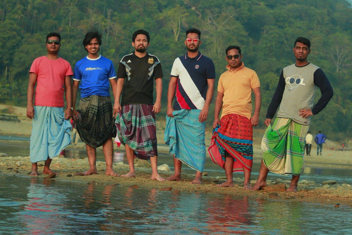 #লুঙ্গি_স্কোয়াড #travel #sylhet #zaflong