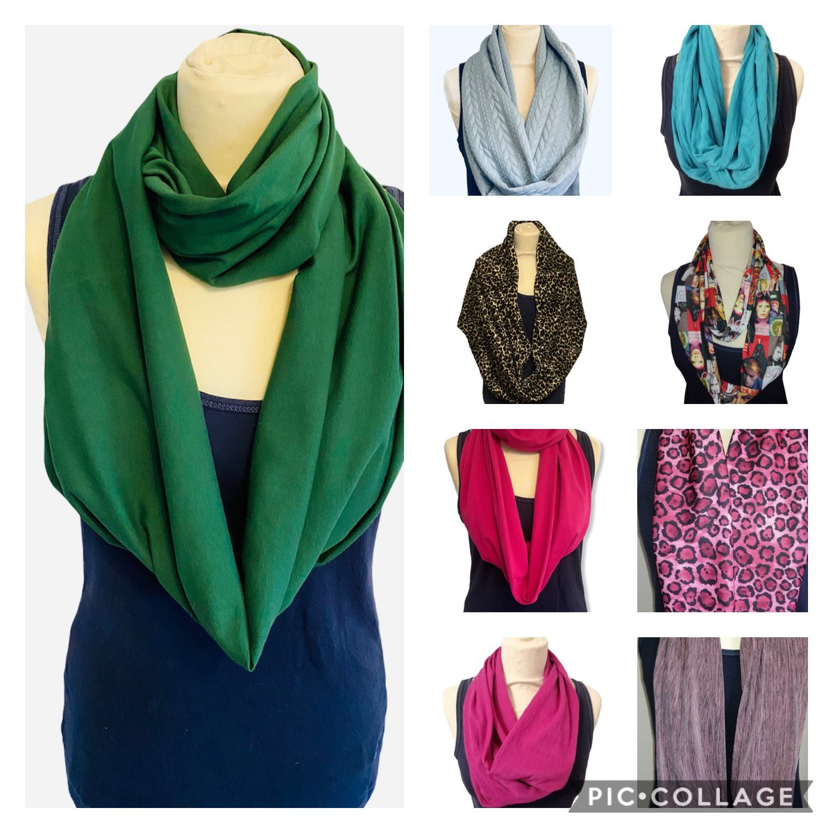 Wrap up warm!! It's chilly outside.  #infinityscarves #WINTER #twistscarf #outdoor #homemade