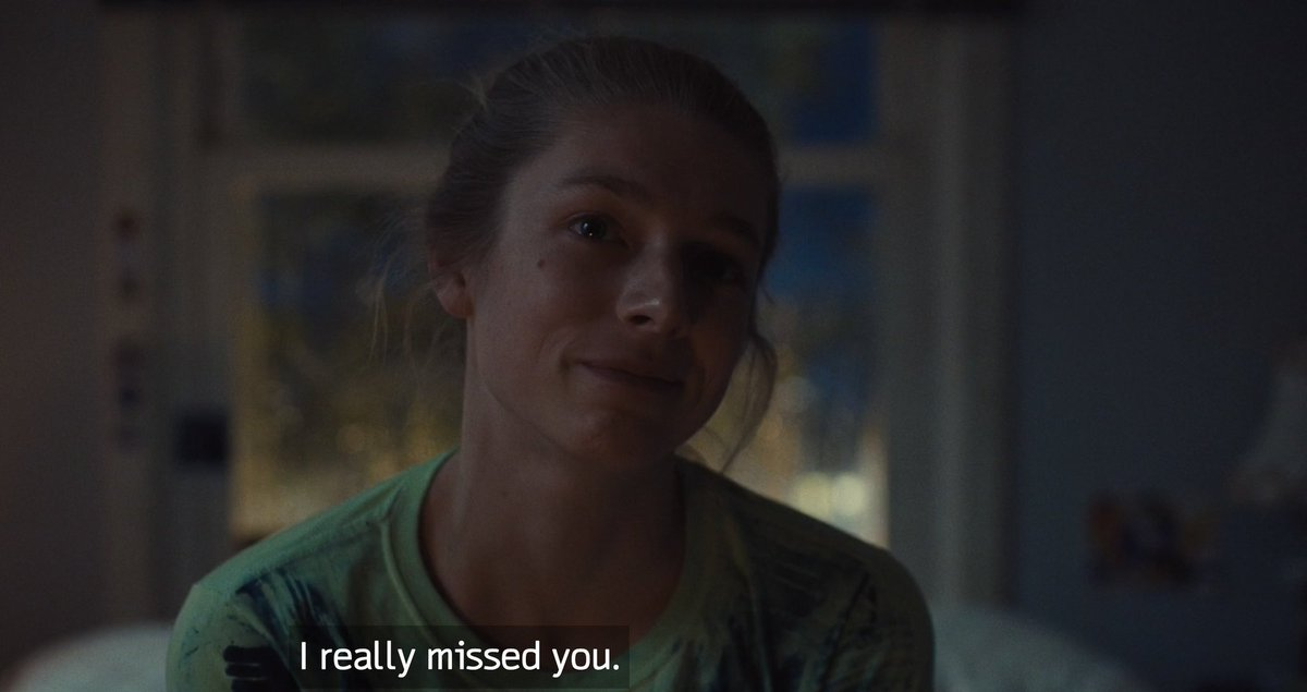 cw // #EUPHORIA spoilers - - - - the SCREAM I let out when I realized that it was *now* them and not flashbacks or dream sequence them... that they were really there together after everything that had happened at the train station