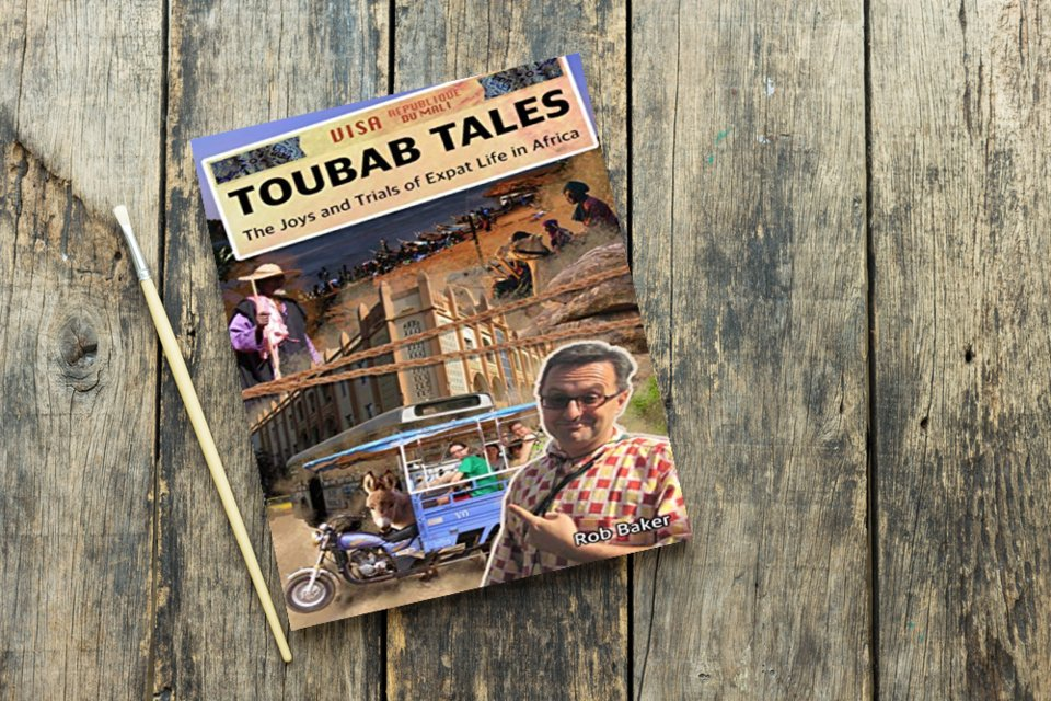 """A great read from the start to finish with colorful characters and vivid descriptions. Grab a copy of """"Toubab Tales"""" now. #travel #biography #memoir #Africa #joy #trials  @RobBakerEthMus available at Amazon -->"""