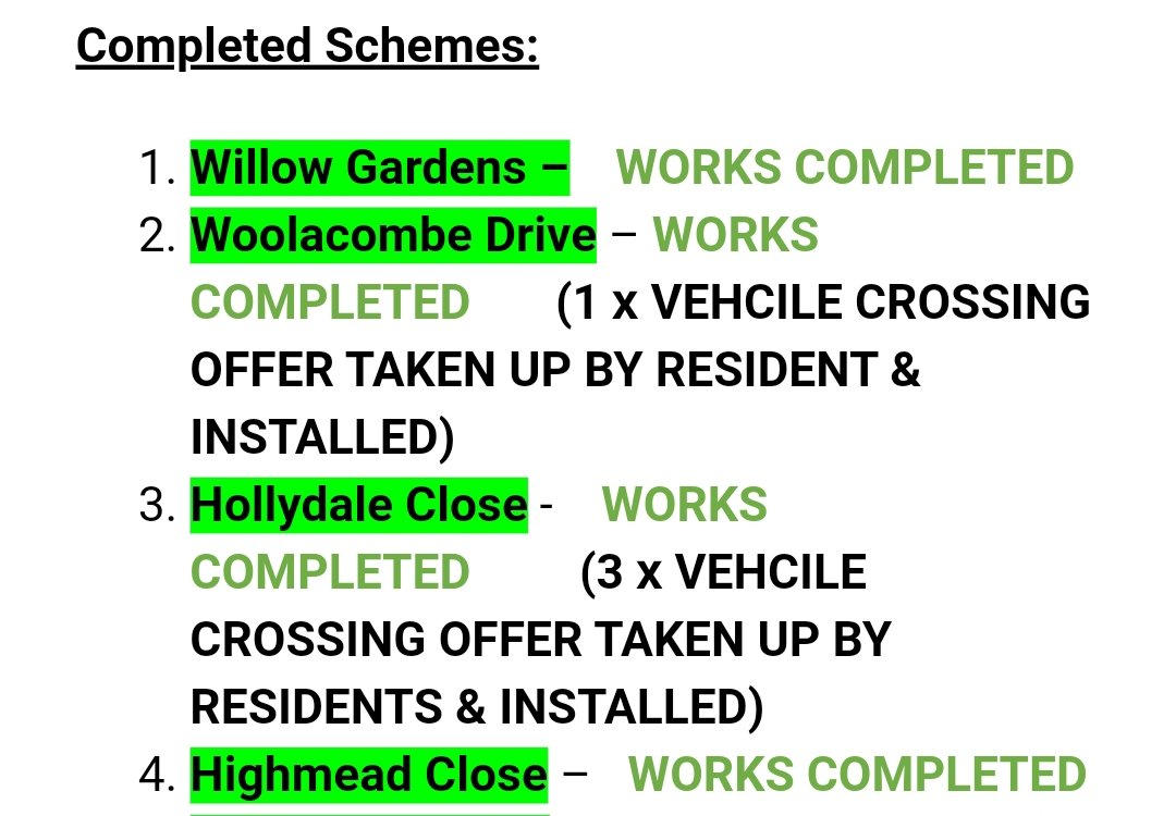 Church Ward residents benefiting from @ReadingCouncil @ReadingLabour investment in roads & pavements. Dropped curb offers being taken up too! New crossing on Pepper Lane coming soon also. More resurfacing coming over the next couple of years.