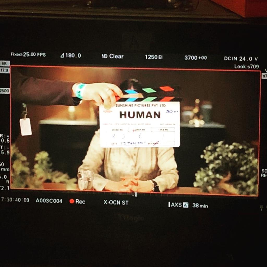 What does it mean to be HUMAN ???  #HUMAN 🤍 Started shooting for my next - A series 🤩 & I am super thrilled to collaborate with some super talented people @ShefaliShah_ @RamKapoor  #SeemaBiswas & many more! Directed by  #VipulAmrutlalShah & @MozezSingh