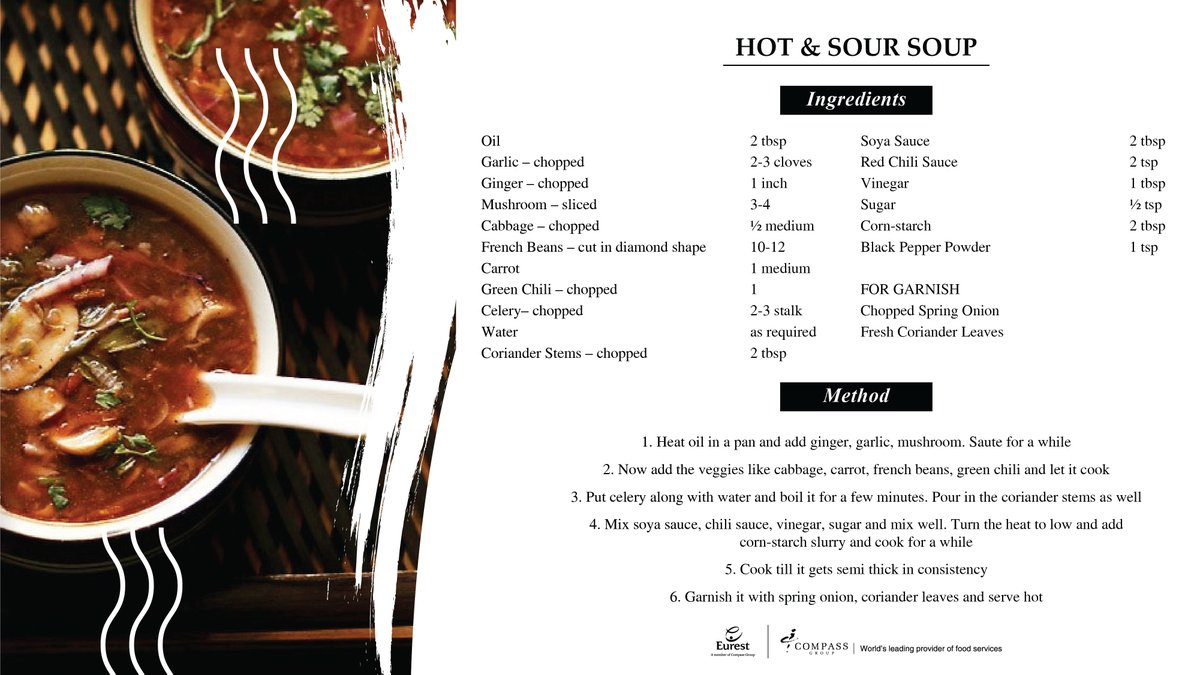 A perfect way to beat the #winterchill  #soups #soup #soupseason #soupoftheday #delicious #winter #winterevenings #hotandsoursoup