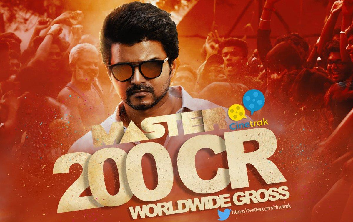 South Indian 200Crs+ Grossers :  #Enthiran #Baahubali #Imovie #Kabali #Baahubali2 #Mersal  #Rangasthalam #Sarkar #2Point0 #KGF #Petta #Saaho #SyeraaNarasimhareddy #Bigil #AlaVaikunthapurramuloo #SarileruNeekevvaru #Darbar #MasterFilm   #MasterEnters200CrClub