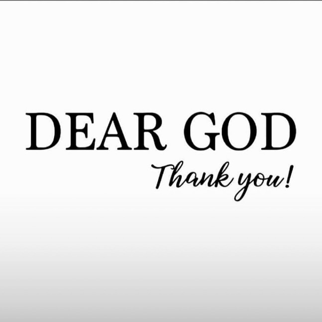 Give thanks to God for seeing another day. Many weren't opportune to see this day though they also had plans like you.  #Thankful #ANewDay #ThankYou